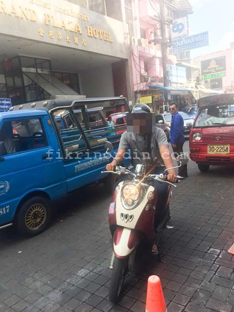 Motorsikal sewa di Hatyai